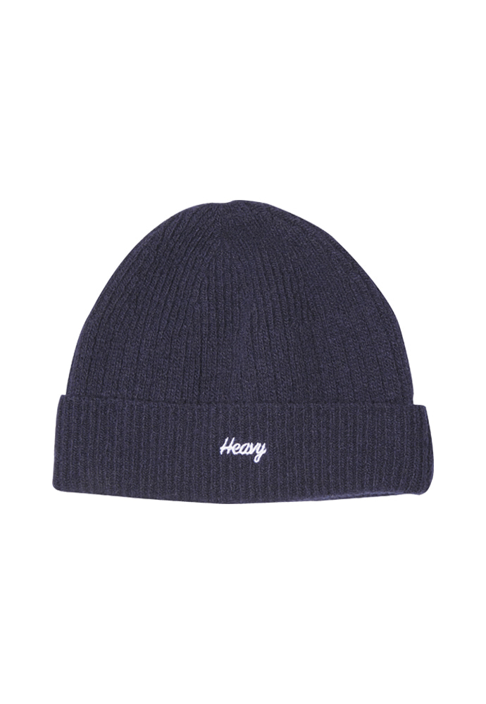 HEAVY Culture헤비컬쳐 Wool Watch Beanie Navy