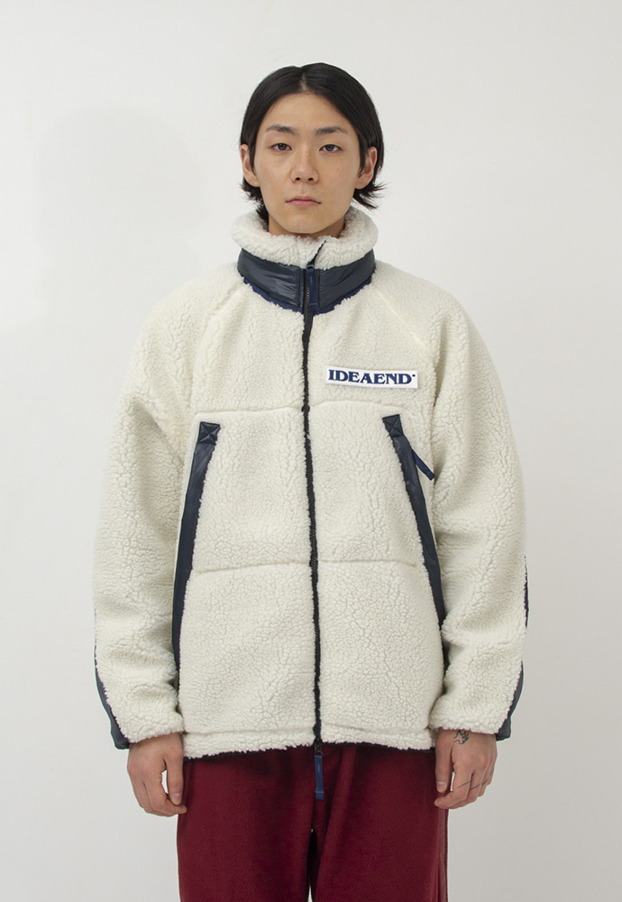 IDEAEND아이디어엔드 Grizzley Fleece Jacket (Ecru)