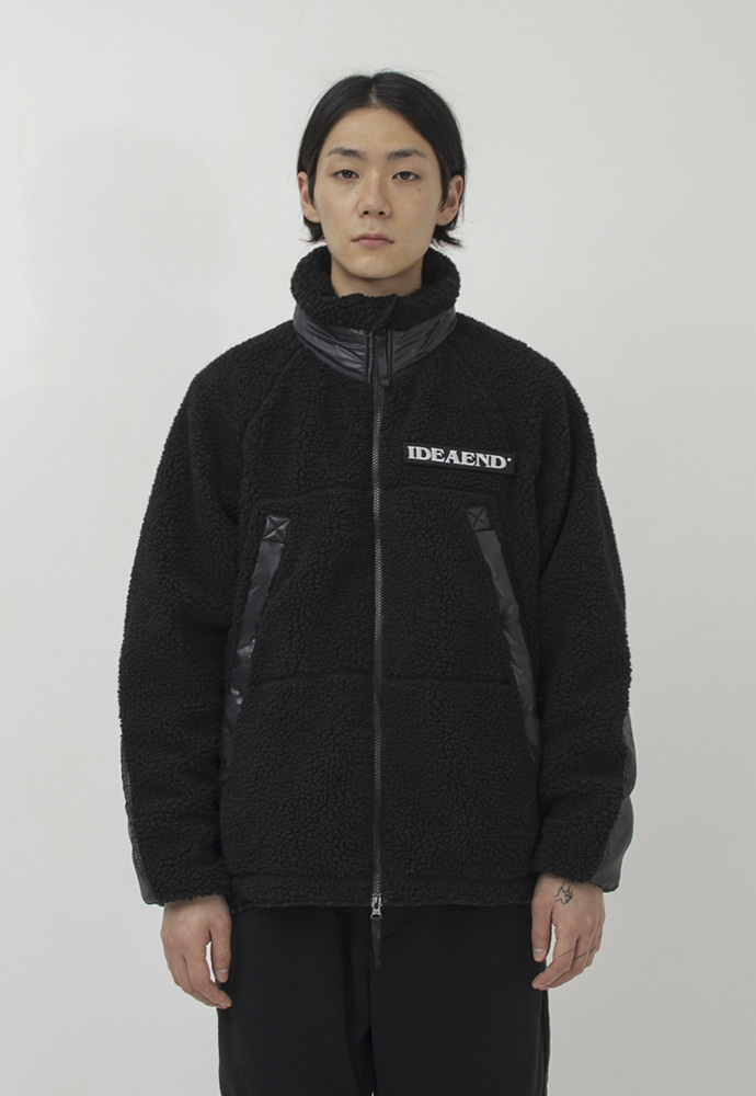 IDEAEND아이디어엔드 Grizzley Fleece Jacket (Black)
