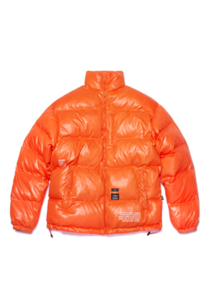 Stigma스티그마 FLIGHT SHORT PADDING JACKET ORANGE