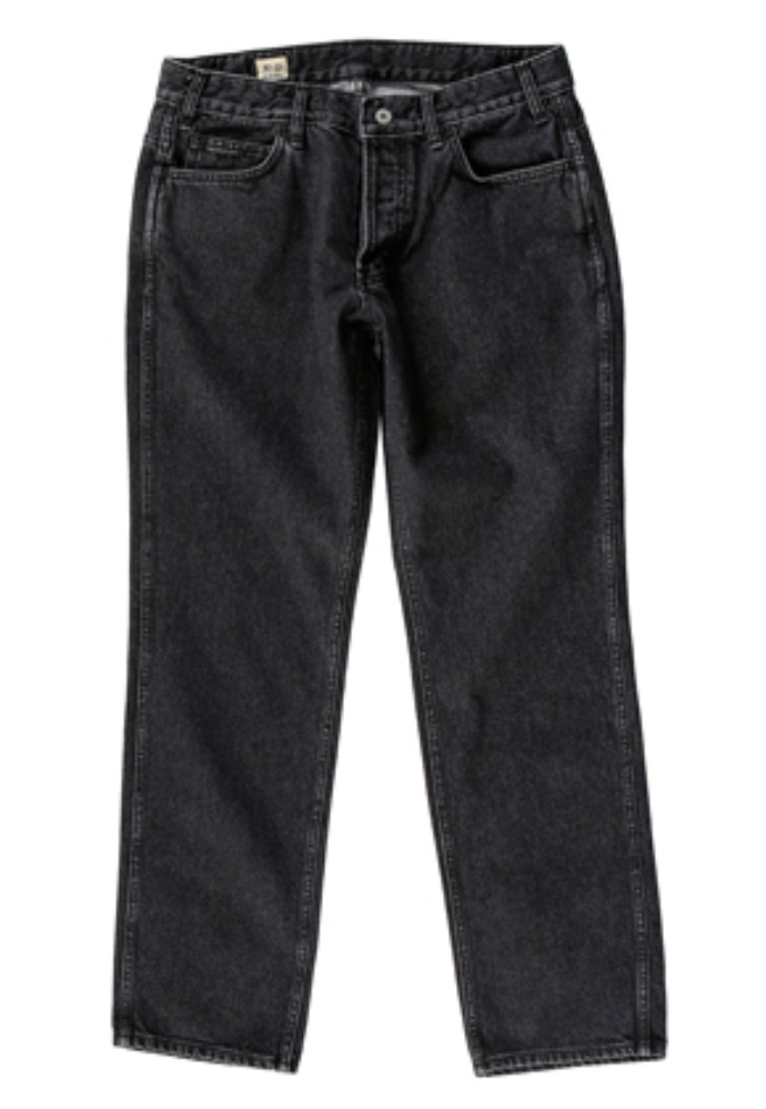 Gongbaek공백 Regular Standard Denim (Black Washed)