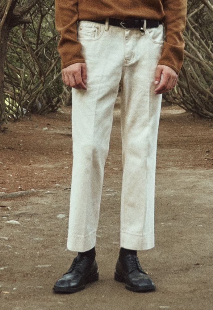 Garment lable가먼트레이블 Garment Worker Stitch Jeans / Tapered (Natural)