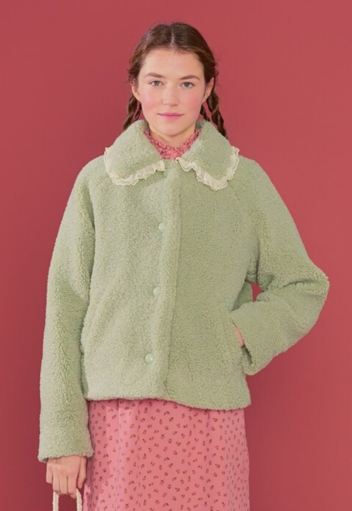 Margarin Fingers마가린핑거스 LACE BUKEUL JACKET