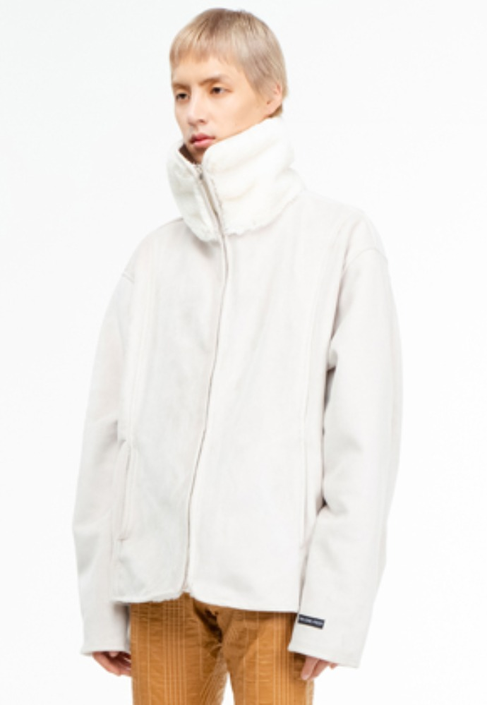 The Greatest더 그레이티스트 GT19WINTER 06 Mustang Jacket WHITE