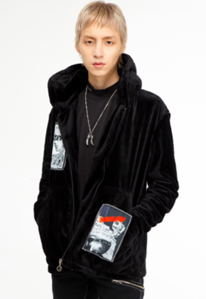 The Greatest더 그레이티스트 GT19WINTER 04 Patchwork Hood Zipup