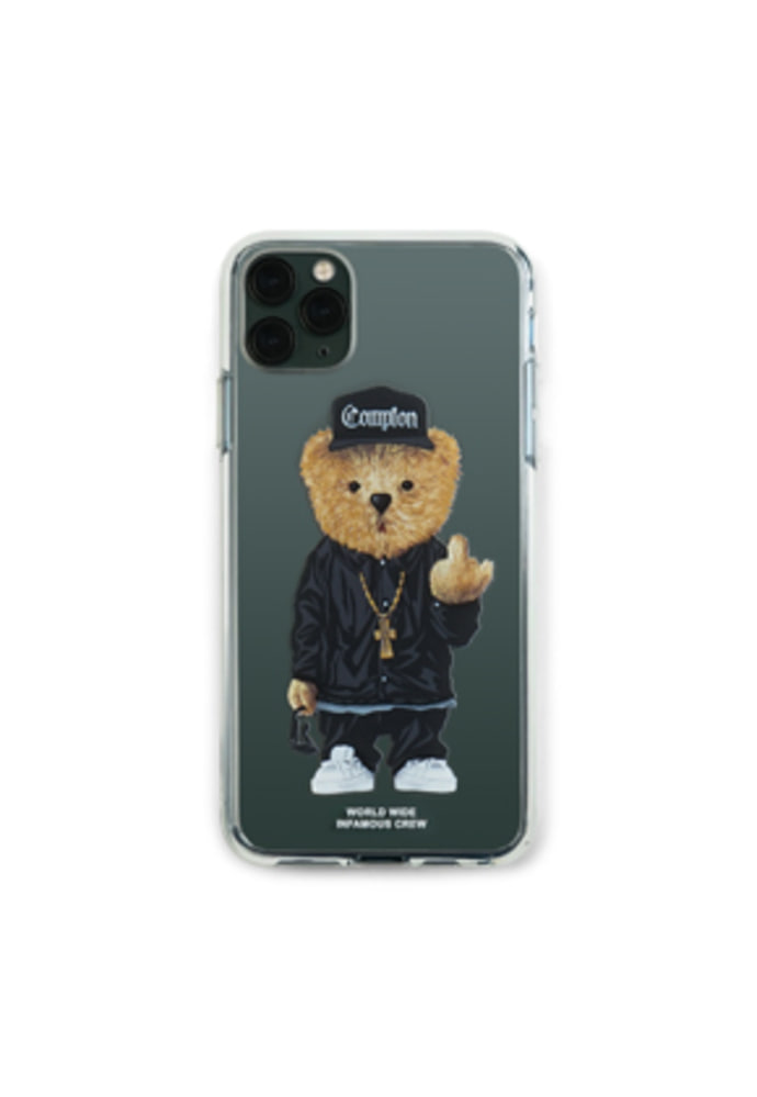 Stigma스티그마 PHONE CASE COMPTON BEAR CLEAR iPHONE 11 / 11 Pro / 11 Pro Max