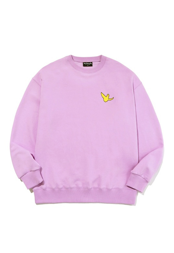 Markgonzales마크곤잘레스 M/G SMALL ANGEL CREWNECK LAVENDER