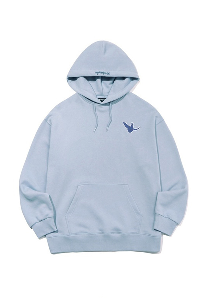 Markgonzales마크곤잘레스 M/G SMALL ANGEL HOODIE LIGHT BLUE