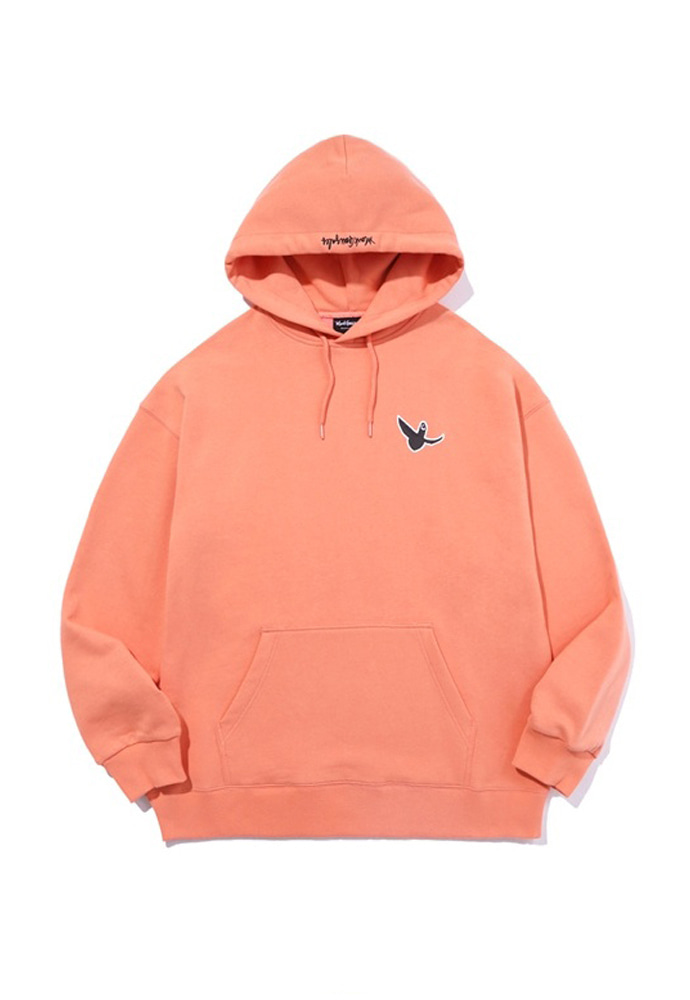 Markgonzales마크곤잘레스 M/G SMALL ANGEL HOODIE PEACH