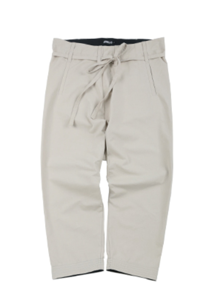 AJO BY AJO아조바이아조 Washed Cotton Baggy Pants [Ivory]