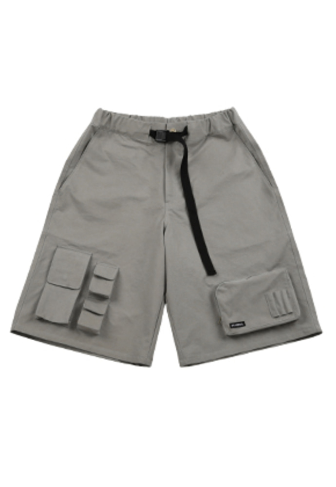 AJO BY AJO아조바이아조 Fisherman Shorts [Grey]
