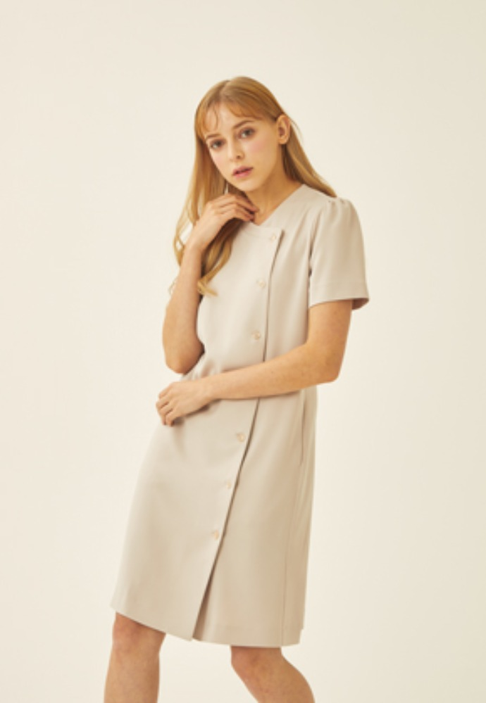 SHORT SLEEVE DRESS-IV