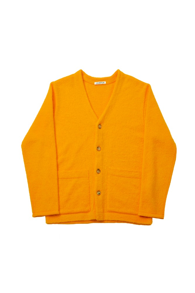 LOREM IPSUM로렘입숨 Mohair Cardigan (Orange)