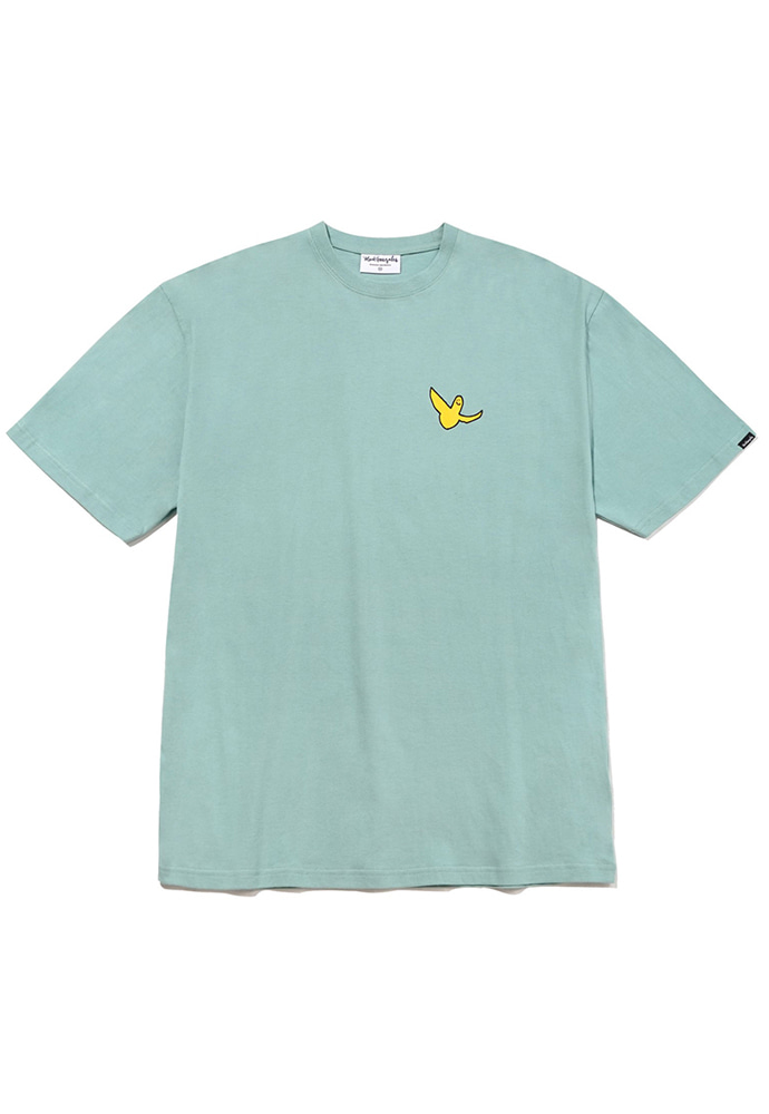 Markgonzales마크곤잘레스 M/G SMALL ANGEL T-SHIRTS VINTAGE GREEN