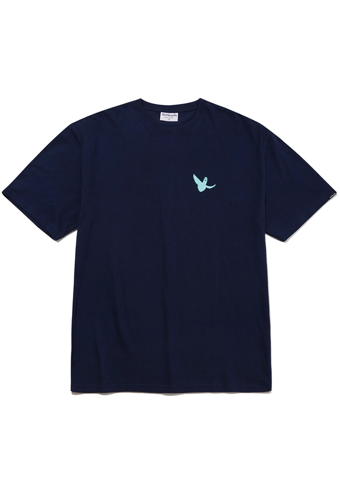 Markgonzales마크곤잘레스 M/G SMALL ANGEL T-SHIRTS NAVY