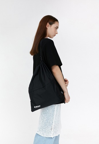 KIRSH키르시 STRING GYM BAG JH [BLACK]