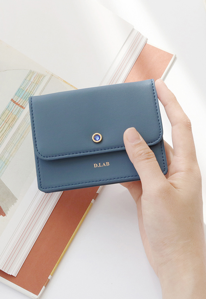 D.LAB디랩 D.LAB (탄생석지갑) Flor Card Wallet - 5color