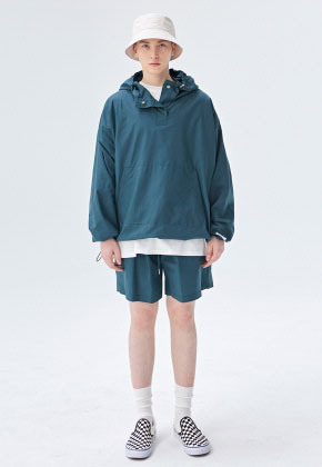 COUCOU코우코우 [COUCOU] TRAINING TRACK ANORAK SET UP_GREEN