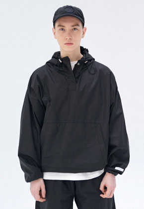 COUCOU코우코우 [COUCOU] TRAINING TRACK ANORAK_BLACK